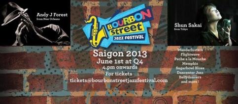 Bourbon street jazz festival vietnam 2013
