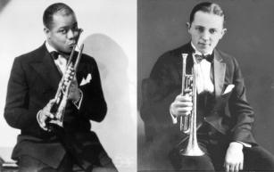 Louis Armstrong & Bix Beiderbecke